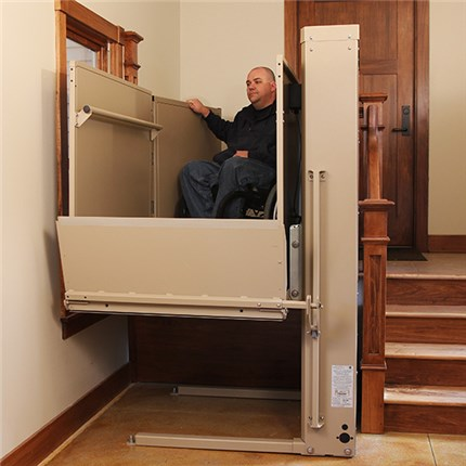 senior mobility handicapped mobile home phoenix porch access wheelchair lift