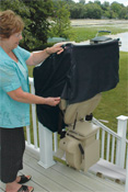 bruno exterior stairlifts